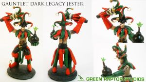 Gauntlet Dark Legacy Jester by GreenRaptor15