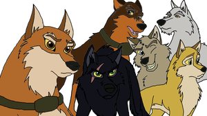 Rise of the Wolf Characters: My Balto OC's by PandaFilms