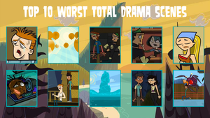 air30002's Top 10 Worst Total Drama Scenes by air30002
