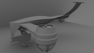 HK-Drone WiP - Half 01 by WilliamTownsend