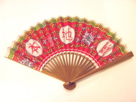 'Local Ginger' Paper Fan by BlueCerise