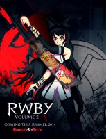 RWBY Black Poster by ChronoPinoyX
