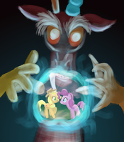 Discord's Crystal Ball by Nedemai