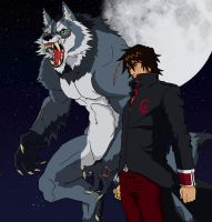 Alfon the Werewolf -color by IchiroHyuuga