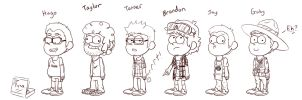 If my buds and I were in Gravity Falls by vicse