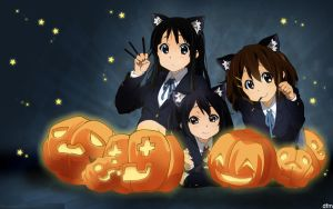 K-ON Trick Or Treat WP Pack by DarrenFromMyspace