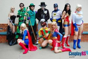 DC comics group by lulysalle