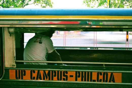UP campus- philcoa by wronggirl