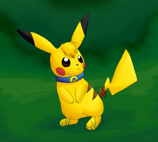 Sparkz the Pikachu by Rika-of-Thunder
