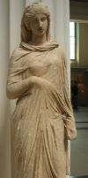 Greek statue female by photodash