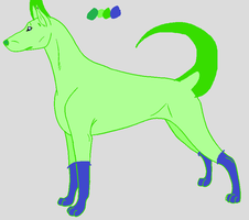 Septic Dog Adopt by X-marblehornets-x