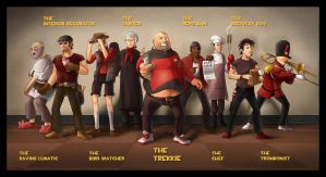 Team Fortress 2 Rejects by ChemicalAlia