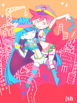 Panty And Stocking by dorodoro