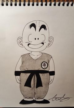Kid Krillin by LadyAlvarez