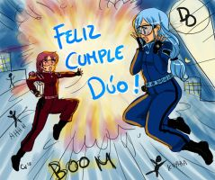 happy b-day Duo by camlost