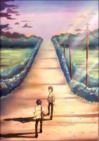 the long walk home by circus-usagi