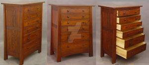 Mackintosh Chest-dresser 811 by DryadStudios