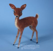 Needle Felted Vintage Style Deer by ZadaCreations