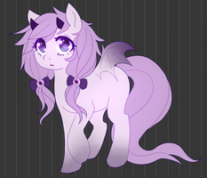 PastelGOTH Pony SOLD by R0TII