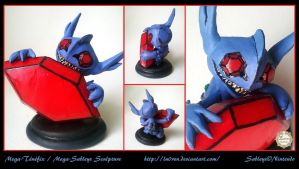 Mega-Tenefix / Mega-Sableye Sculpture