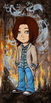 Sam Winchester by tianeid