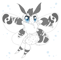 Kibiki Moth by MBPanther