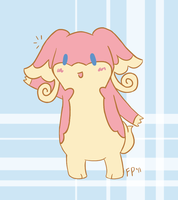 Hello Audino by Fenori