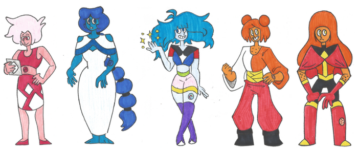 SU Gemsona Adopts: Moon and Sun Edition (2/5 OPEN) by EchoDitto