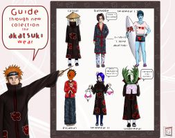 New collection: Akatsuki wear by gerberaMF