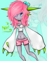My first draw :3 by Luminene