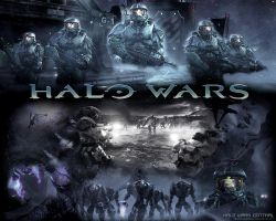 Halo Wars Wallpaper by Stunod