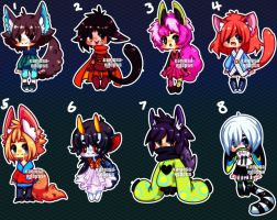 Set Price Kemono Batch (CLOSED) by Kariosa-Adopts