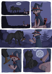 Little Wolf and Black Cat - 16 by Detrah