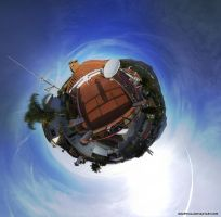 Orbiting Fuengirola by Graphica