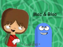 Mac and Bloo by fosters-fanclub