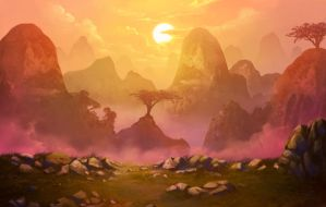 Mountain by CiCiY
