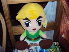 Link Plush by DazzyDrawingN2
