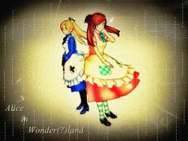 .:Alice in Wonder(?)land:. by 7Tsuki