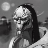 Saren sketch by xavor85