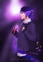 Violet Pepper : Happy Birthday Artgerm! by FalconessN