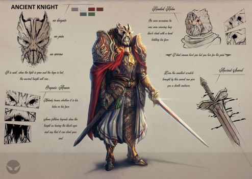 Ancient Knight by SpiritHide