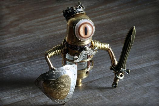 Steampunk Minion King by CatherinetteRings