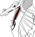 .Dragon Roaring Template. by Alexis101