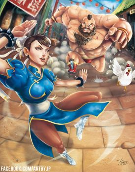 Capcom Fighting Tribute 2015 - JP PEREZ by jpzilla