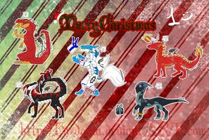 Merry Christmas - 1 by fordonia