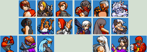 CBR: Character Select pixel style wip by Sobies516pl