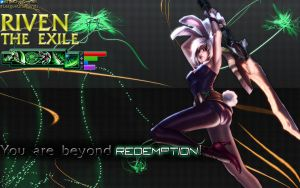 Riven The Exile (Battle Bunny Riven) by palkia1208