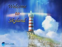Welcome to Skyland - Wallpaper by ala-sysunia