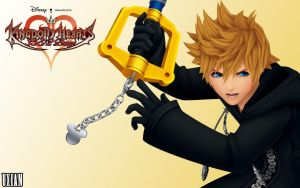 Roxas the Key of Destiny HD by UxianXIII