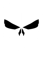 Punisher Skull 1 by JMK-Prime